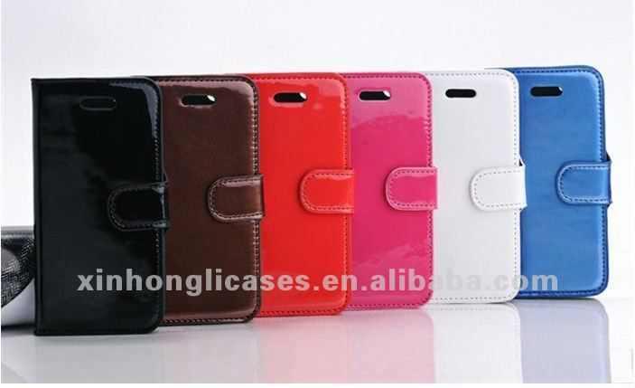 Hot sale japanned leather case for iphone 5, for iphone5 accessory