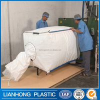 China factory price PP bulk bags scrap BULK GRADE A, B baled BIG BAGS USED washed plastic scraps PP polypropylene bulk bag 1000k