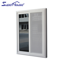 AS2047 Australian Sliding window with mosquito net of cheap house windows for sale by china Supplier