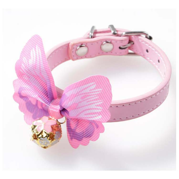 Fashion Cute Butterfly Pets Cats Dogs Tie Collars Wholesale