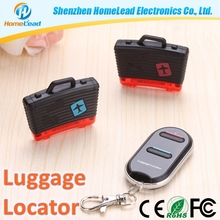 New design 40m working distance anti lost alarm luggage locator with 2 years warranty