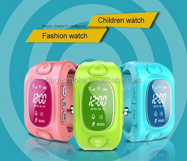 2013 kids smart watch personal gps tracker kids Q50 Y3 bluetooth vibrating watch