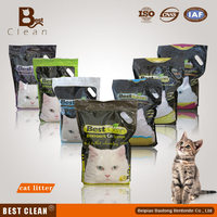 Eco-friendly Best Clean White Color Bentonite Cat Litter