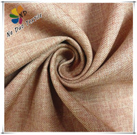 Fashion linen fabric upholstery for sofa /polyester sofa fabric