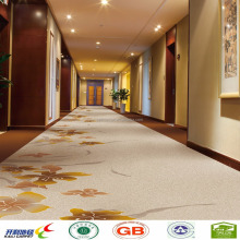 cut pile customized corridor nylon Printed carpet for hotel