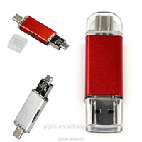 Custom logo Design Type-c Card Reader USB Flash Drive Memory for 2.0 Micro Usb