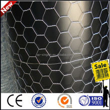 bird/ chicken / rabbit/ milk/ fox poulty cage wire mesh, PVC coated / galvanized iron hexagonal wire mesh (N - 027)