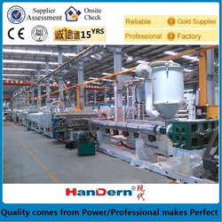 polypropylene package sheet extrusion machine