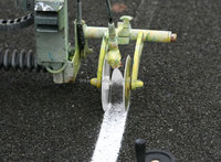 Athletic Running Track Surface Line Marking Paint