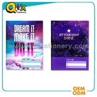 OEM custom printed softcover cheap school exercise book