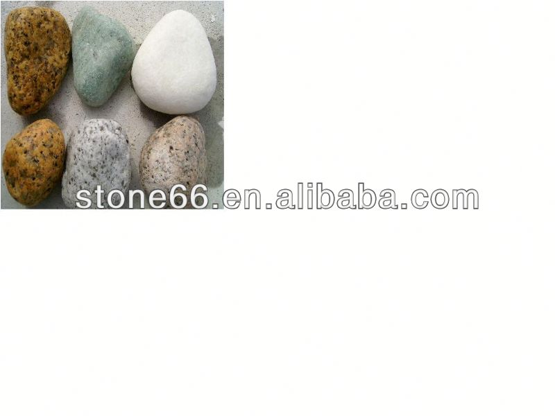 cheap decorative pebble stone/ stone pattern carpet