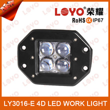 4D off road LED lighting 10-30V DC work light LED 16 watt 4x4,SUV,ATV,4WD,Truck,Vehicle,Excavator