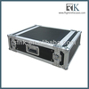 RK 10U Slant Mixer Racks With 3U Amplifier Portable Rack Cases