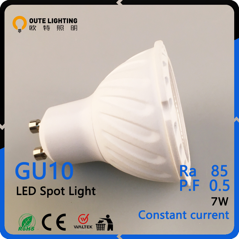 30000 Hours 7W GU10 Led Spotlight