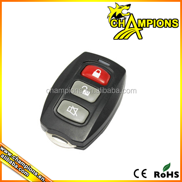 3 button wireless remote for car , car center lock system AG041