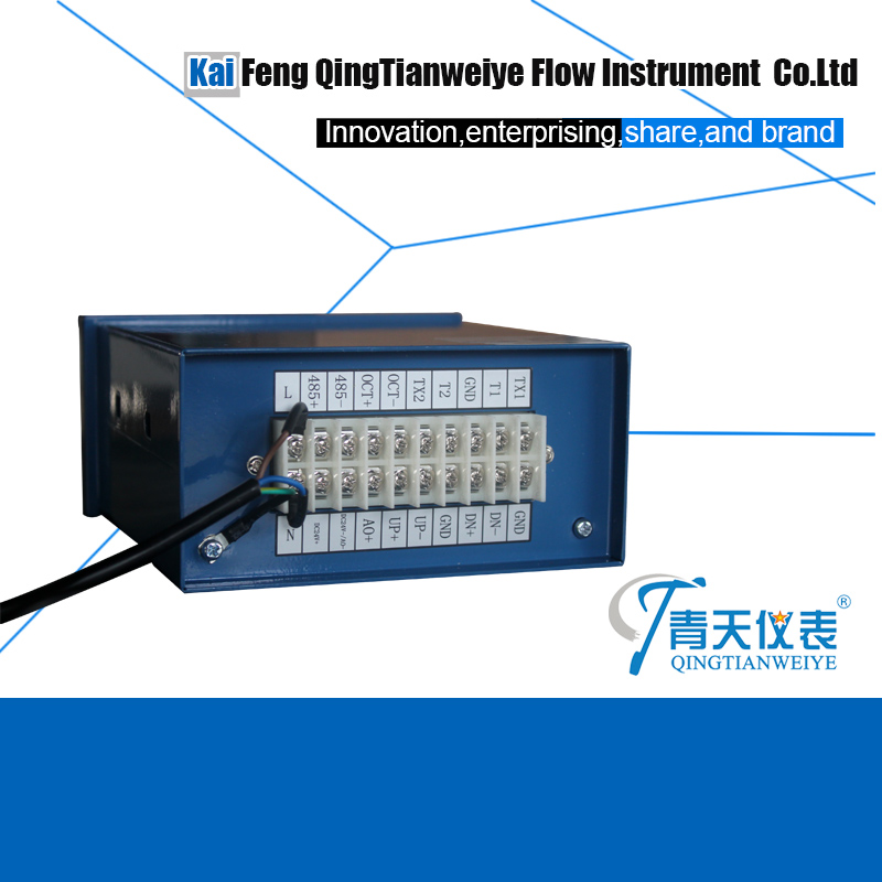 ultrasonic transducer/sensor for liquid flow meter