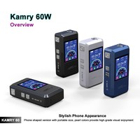 510 ecig battery free samples with free shipping 7w~60w, magnet back cover kamry60 watt electronic cigarette brand vw box mod