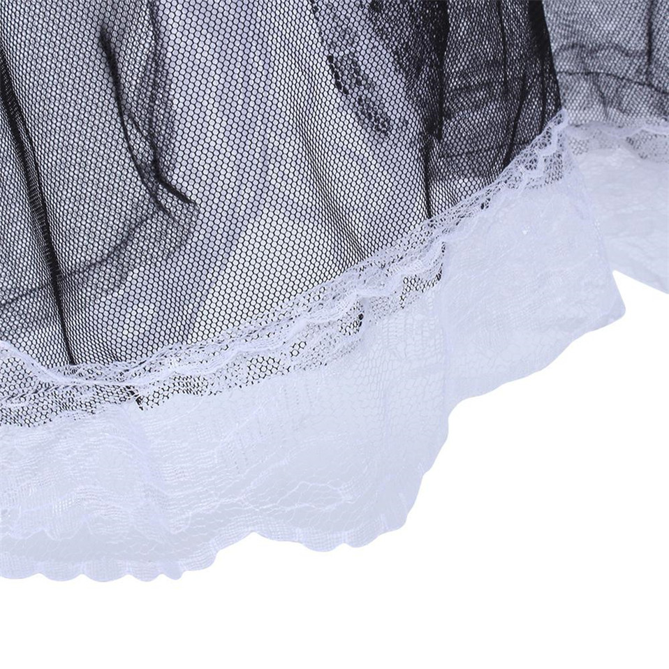 HTB1QjUkgcnI8KJjSsziq6z8QpXaE LSTRY 2020 New Bow Lace Lingerie Women French Maid Cosplay Sexy Lingerie Hot Transparent Costumes Erotic Lovely Maid Costumes
