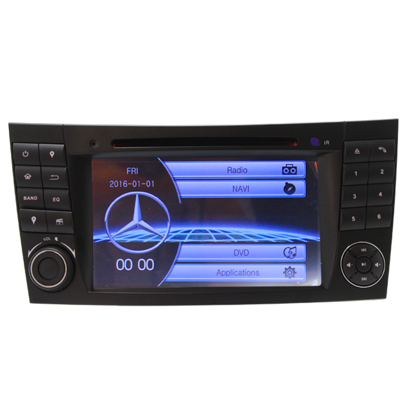 7'' System car dvd player gps navigation For Mercedes class w211 built-in gps navigator