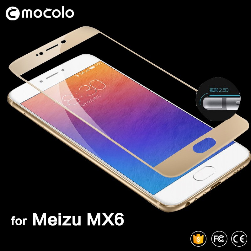Mocolo 2.5D Tempered Glass Screen Protector for Meizu MX6 Screen Guard