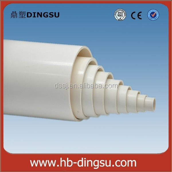 High Quality PVC Water Supply Pipes For Hot And Cold Water Supply With Factory Price