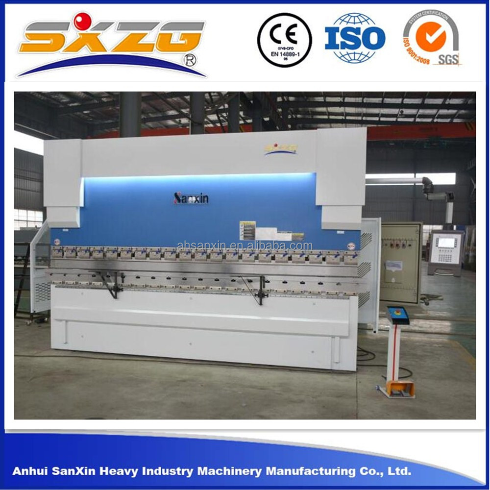 DA52S China export accurl cnc hydraulic press brake used price and cnc hydraulic metal steel bending machine