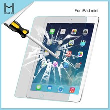 anti-shock 9h 0.33mm 2.5d japanese asahi tempered glass screen protector for ipad mini /for ipad mini tempered glass
