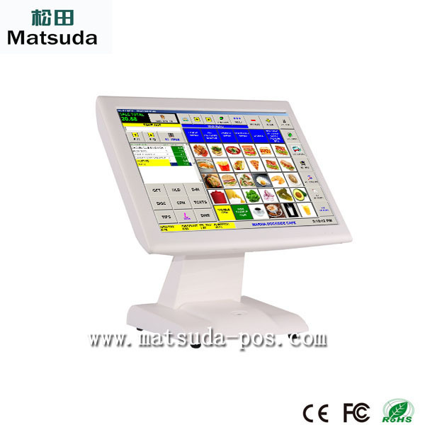 wireless PCI pos tablet 15' touch screen cash register monitor