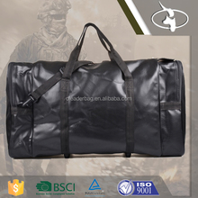 110L Large Capacity Vintage Leather Duffel Bag for Travel