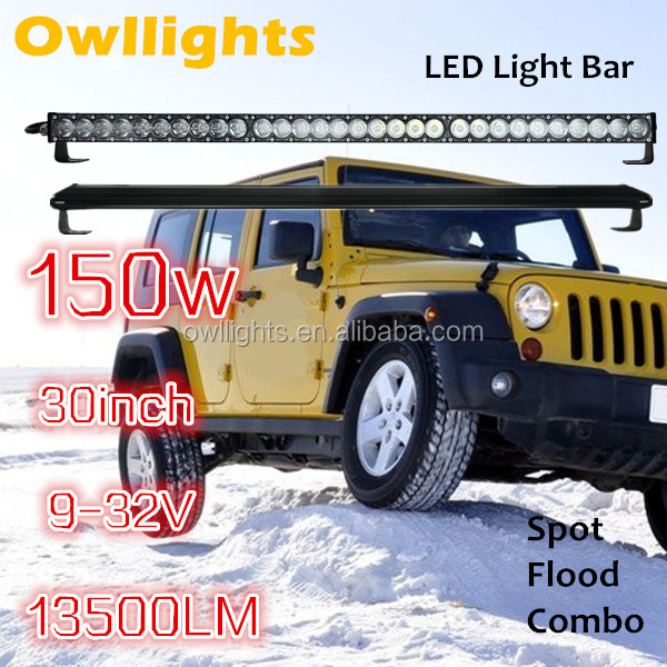4x4 led off road light 150w 200w 250w led light bar motorcycle parts harley led wrangler spot flood led driving light 12V