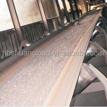 flat transmission EP polyester rubber conveyor belt