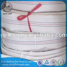 Qinlong rubber lining canvas fire hose used for water irrigation