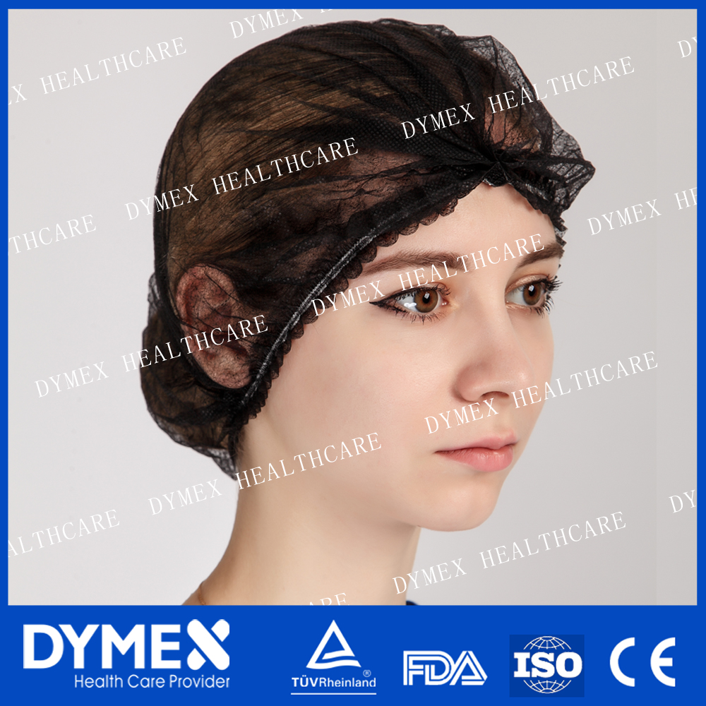 Wholesale Disposable Blue Nonwoven Hospital Hair Net