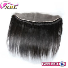XBL Large Stock 13*4 Silky Straight Human Hair Virgin Peruvian Hair Lace Frontals