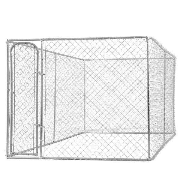 Supply 3m length chain link galvanized metal dog kennel