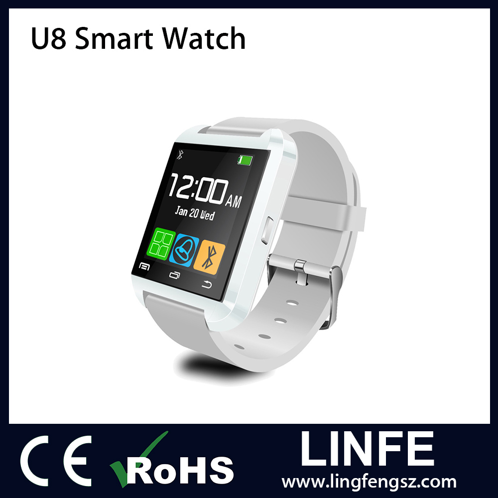 Hot Selling U8 Smart Watch ,Bluetooth 4.0 Android Smart Watch