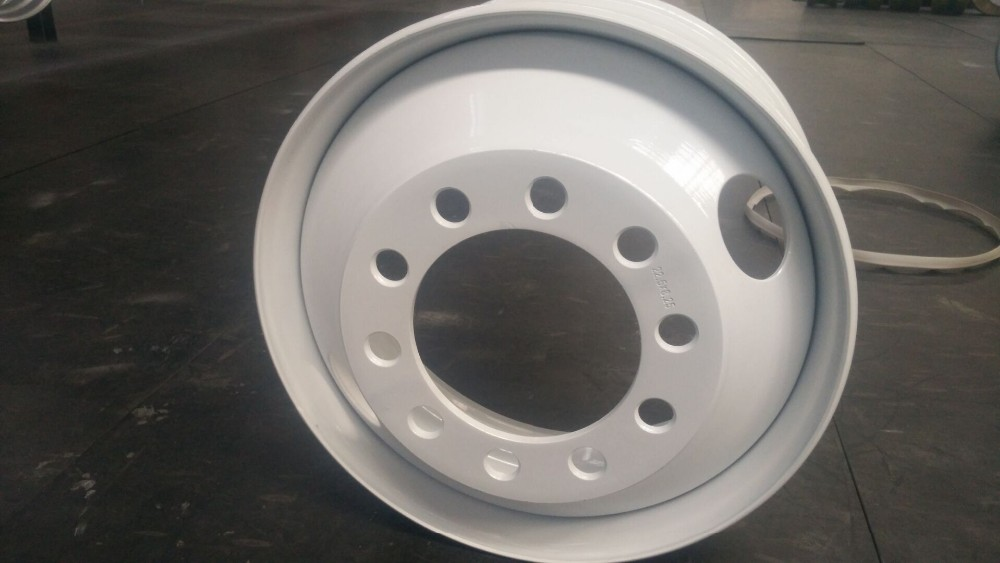 Tube wheel rim for truck