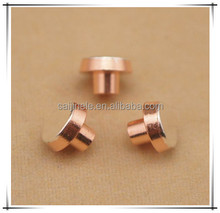 Silver Solid Electrical Contact Rivets for Schneider Proximity Switch and Capacitor