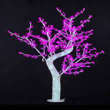 Artificial outdoor waterproof crystal white outdoor lighted christmas trees
