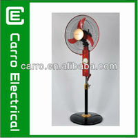 "12v 16"" battery electric fan with charger"