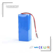 DIY shrink wrap style li ion battery pack 24v 10ah electric bike battery with BMS