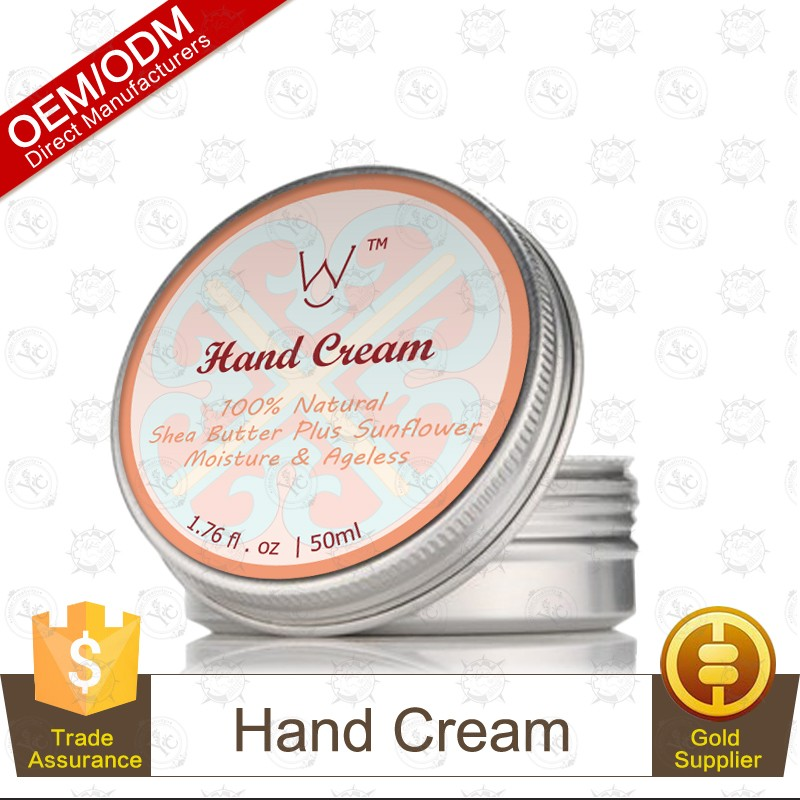 Private Label Hand Cream and Foot Cream Kit for Unisex 50g/3pcs Enrich with Shea Butter,Cocoa Butter,Sunflower,Olive Oil