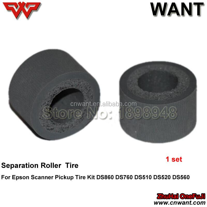DS-760 DS-860 DS-510 DS-520 DS-560 Separation Roller Tire rubber replacement For Epson Scanner ds860 ds760 ds510 ds520 ds560