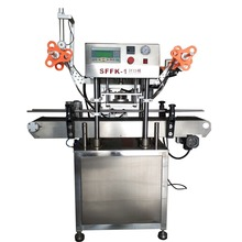Automatic plastic jar / cup / bottle hermetic heating sealing machine