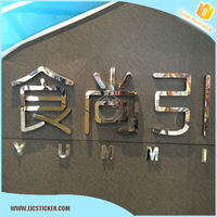 Manufacture custom aluminum metal sign printing,hot custom metal sign,high quality metal letter and numbers