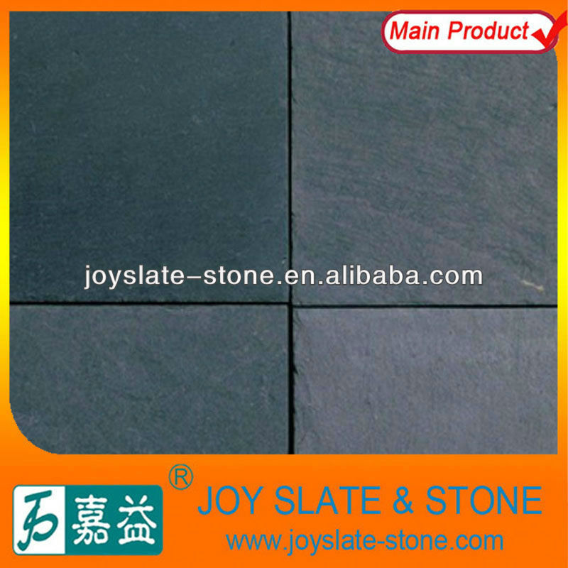 Natural Black Flooring Slate Rock Prices