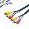 SIPU Factory price rca to firewire cable rca to dv av input output cable