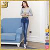 Factory Price Stained Clothing Plus Size Women Jeans