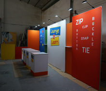 Good Feedback Custom china exhibits booth design for trade show display