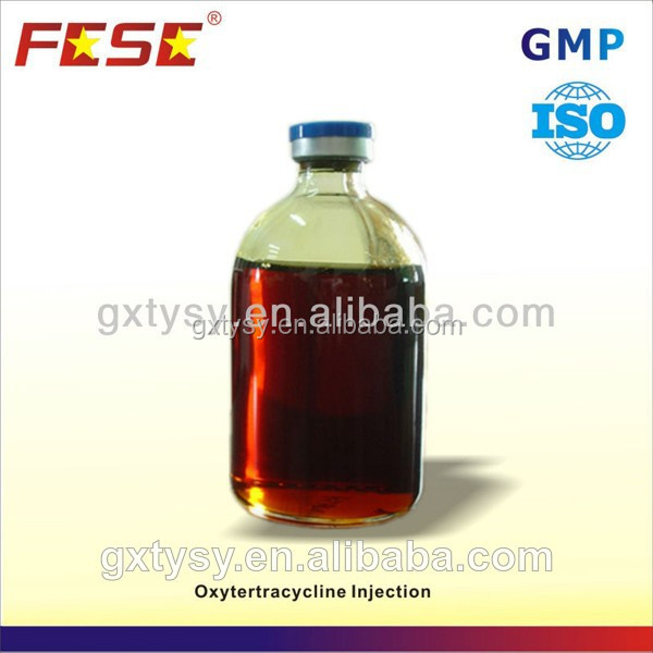 China health growth promoter oxytetracycline hcl injection veterinary medicine